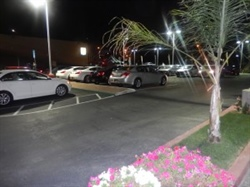 Puente Hills Mitsubishi Lights up with LED Trial's Astoria DX Area Lights