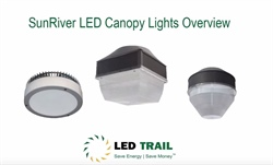SunRiver LED Canopy Lights Overview
